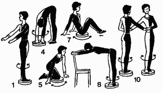 Упражнения от варикозного расширения вен