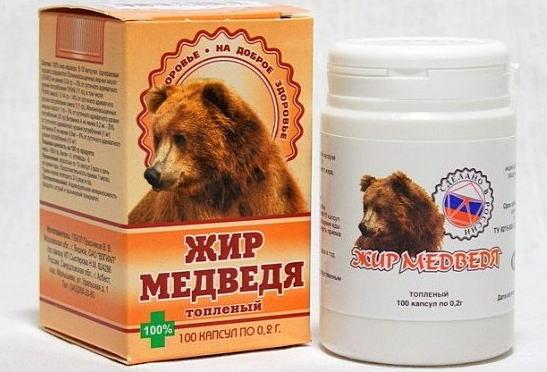 Как использовать медвежий жир при геморрое?