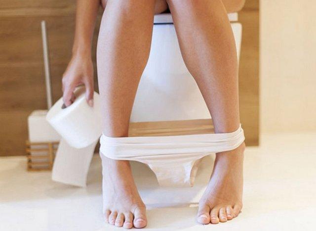 Как сходить в туалет при геморрое?