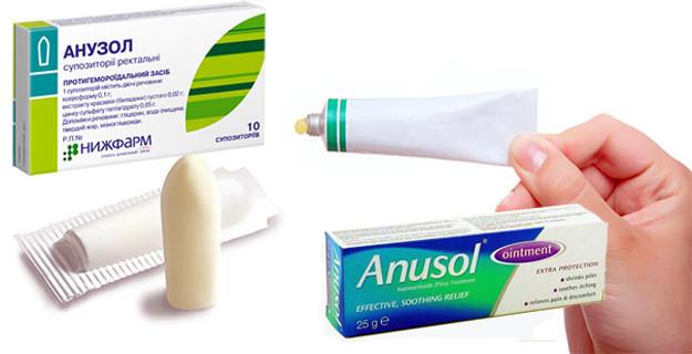 Применение свечей Нео-анузол при геморрое