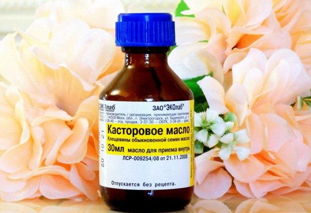 Касторовое масло при лечении геморроя